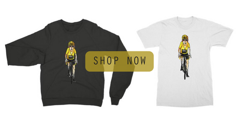 Handlebar Barista Geraint Thomas T-shirts and sweaters