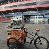 Handlebar Barista at sporting and CrossFit events
