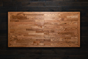 Oak Modern Butcher Block table