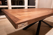 Walnut Modern Wide Plank Table