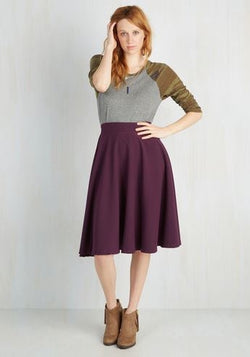High Waist Thrills Skirt