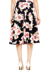 Roses Galore Skirt for LDS Sister Missionaries