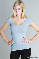 Cap Sleeve Layering Top
