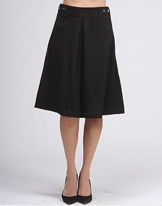 Mary Jane Wool Skirt
