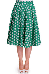 Miriam 50's Skirt in Green