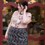 Double Ruffle Top - L, XL Only