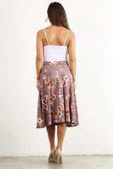 Florals Never Faileth Skirt