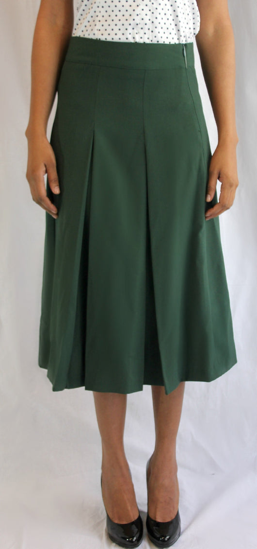 Box-Pleated Skirt