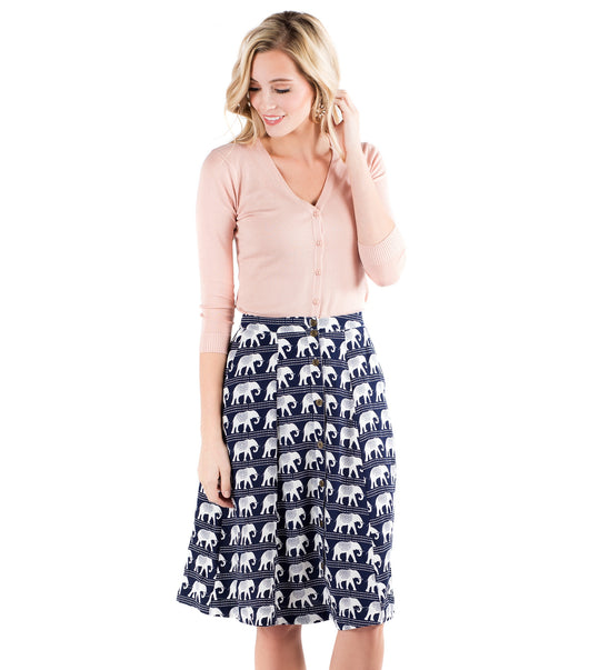 March of the Elephants Skirt