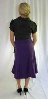Bow Belt Swirl Skirt