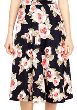 Roses Galore Skirt - Sister Missionary Fashion