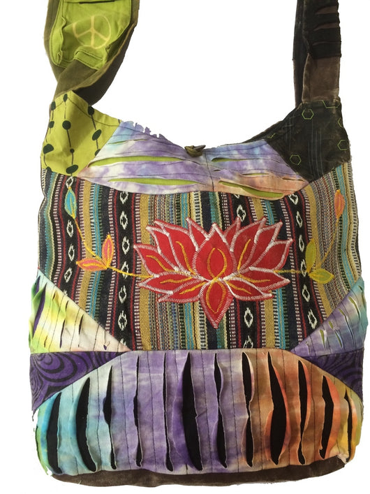 Lotus Shoulder Bag