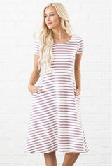 Jenny Dress - Modest Dresses - Sister Missionary Clothing - Sorella Bella