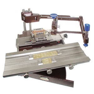 Horizontal Engraving Machine