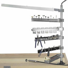 Load image into Gallery viewer, Bur Holder Arm Accessory for Foredom® Flex Shaft Stand Workbench System-Pepetools