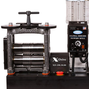 160 mm All Wire Ultra Mill with Ductile Frame X-DRIVE-Pepetools