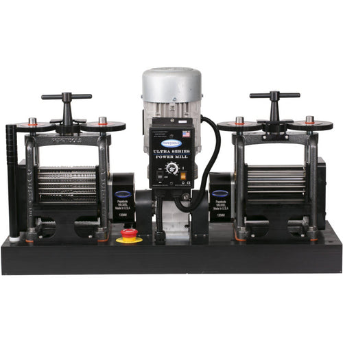 130 mm Double Electric Flat & Wire Mill X-Drive-Pepetools