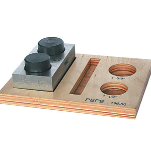 "1 1/2"" & 1 5/8"" Diameter Disc Cutter Set-Pepetools"