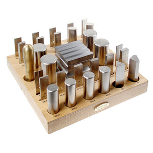 30 Piece Forming Tool & Block Set