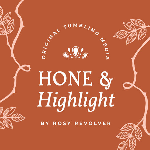 Hone & Highlight™ Tumbling Medium by Rosy Revolver (1LB)