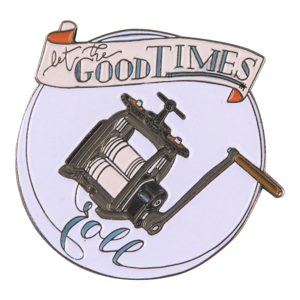 Let The Good Times Roll Enamel Pin-Pepetools