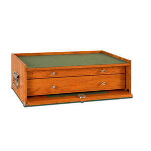M20 Oak 2-Drawer Mid-Base