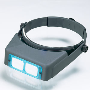 Donegan OptiVISOR DA-7 2.75 X Magnification at 6""