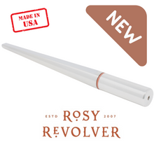 "Load image into Gallery viewer, ""Rosy Revolver"" Flat Back, Open Ring, Forming Mandrel (PRE-ORDER)"