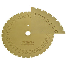 Engraving Machine Type Dials-Pepetools