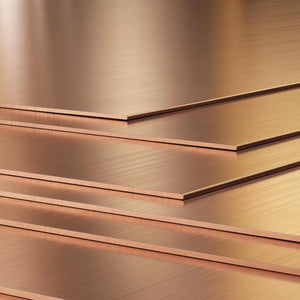 "20 Gauge (.032"") Copper Sheet 12"" x 6""-Pepetools"