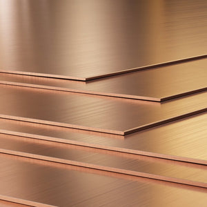 "18 Gauge (.040"") Copper Sheet 6"" x 6""-Pepetools"