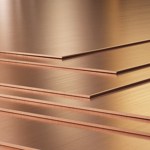 "20 Gauge (.032"") Copper Sheet 6"" x 6""-Pepetools"