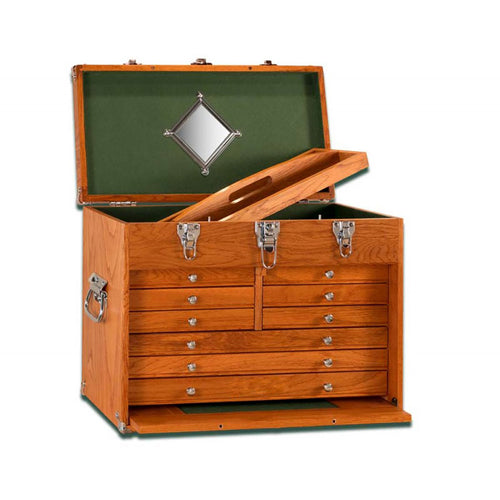 T20 Oak 9-Drawer Chest