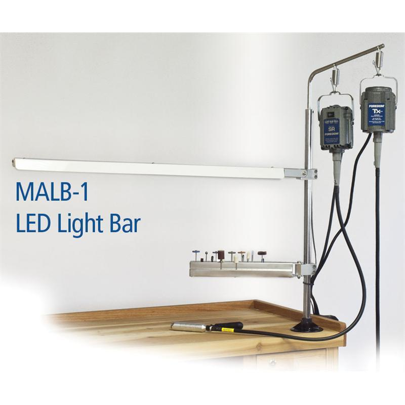LED Light Bar for MAMH-13 Foredom (110V/220V) - MALB-1-Pepetools