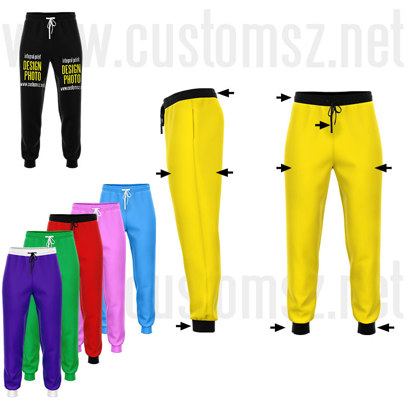 jogging custom personnalisable personnalisation pantalon
