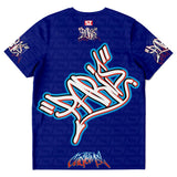 T-shirt Paris lettrage Graffiti style