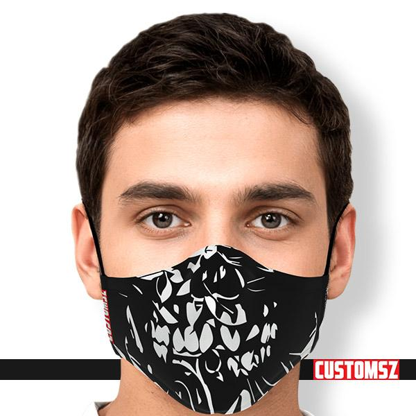 Masque de protection  Skull- 2 filtres charbon PM 2.5 (Adulte & Enfant)