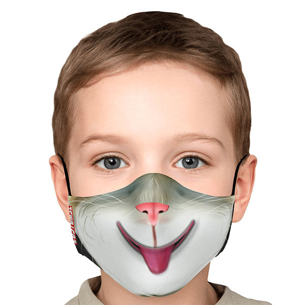 Masque de protection CUSTOMSZ - Tête de chat