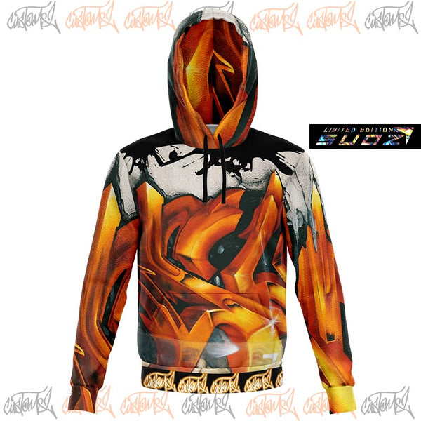 Sweat à capuche Graffiti 3D - Suoz Limited Edition H/F