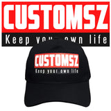 Casquette CUSTOMSZ - keep your own life