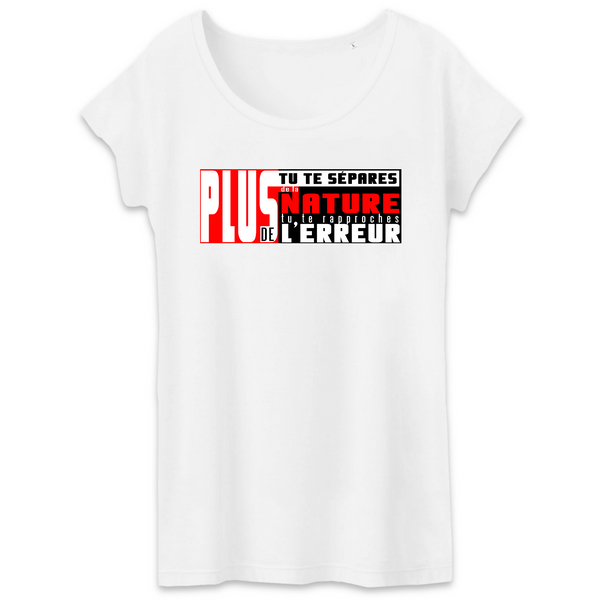 T-shirt Femme - message conscient
