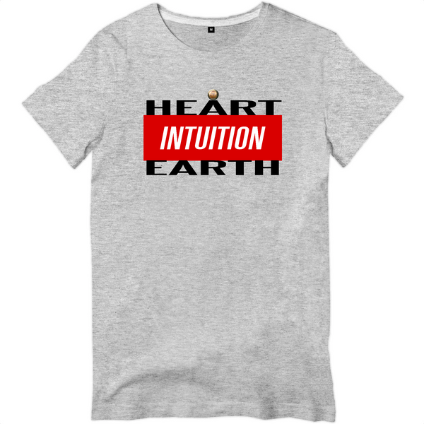 T-shirt - INTUITION - heart /earth
