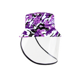 Chapeau bob graffiti purple camo SZ