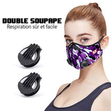 Masque fashion Camo Purple