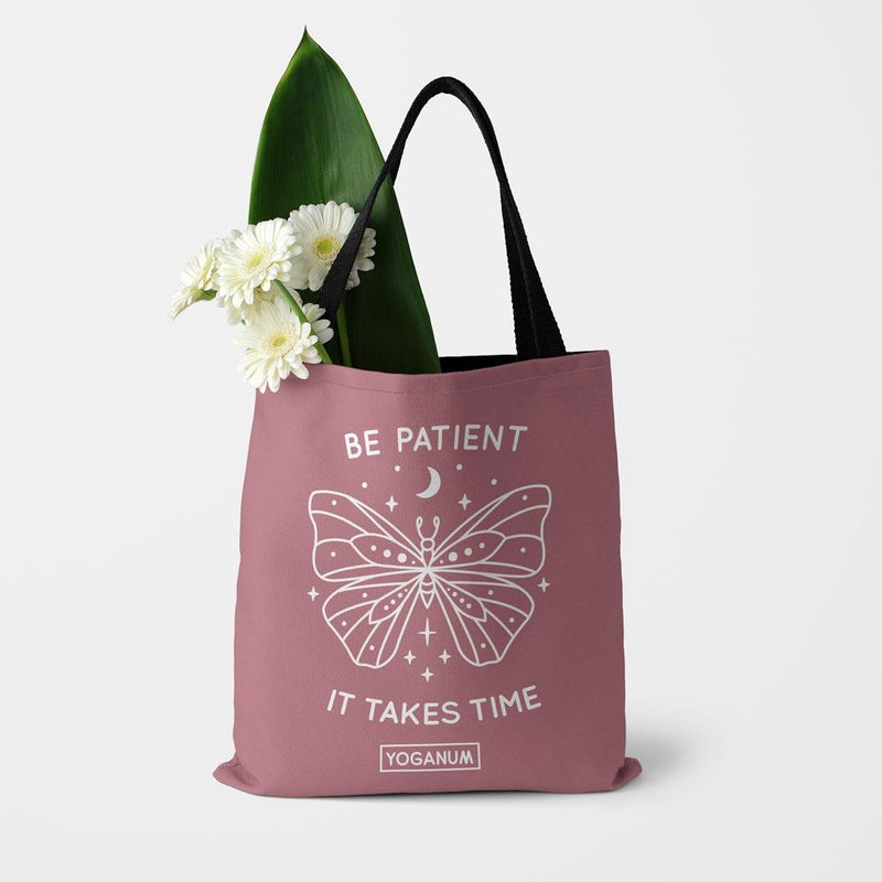 Be patient - Tote bag