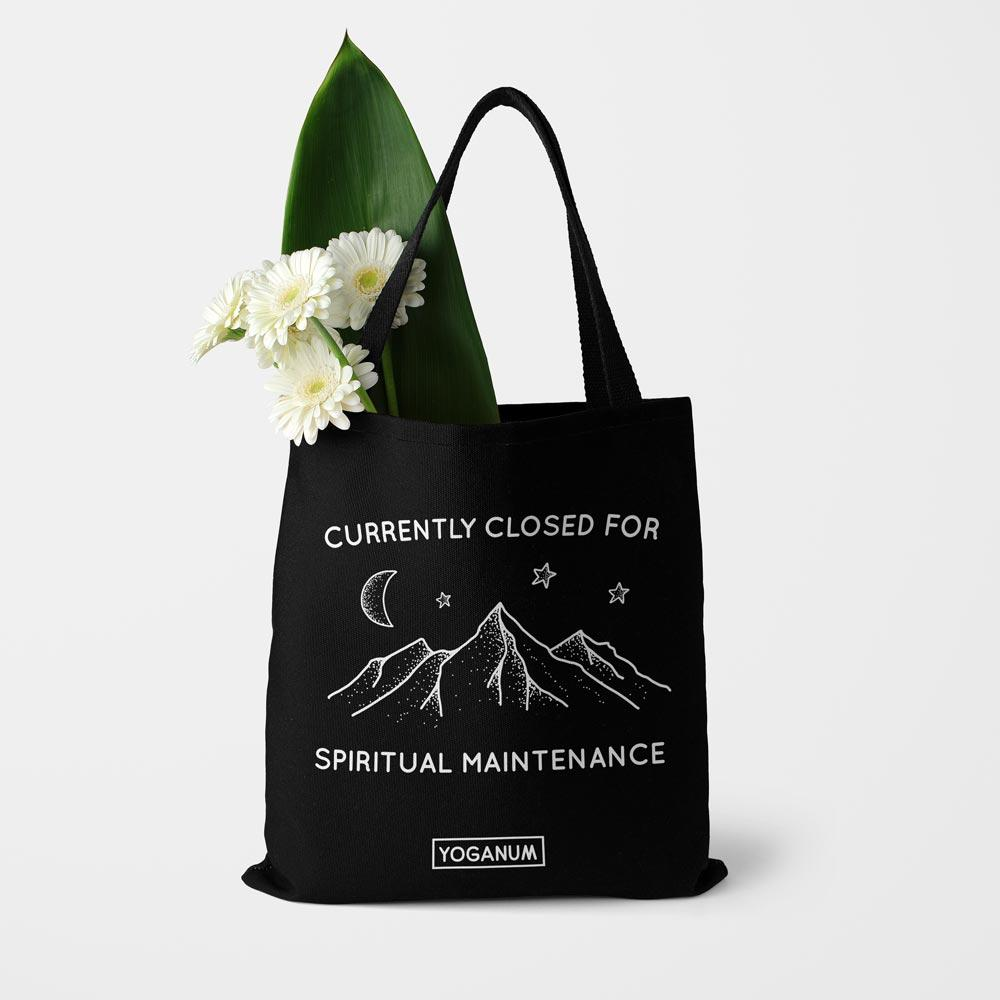 Closed for spiritual maintenance - Tote bag