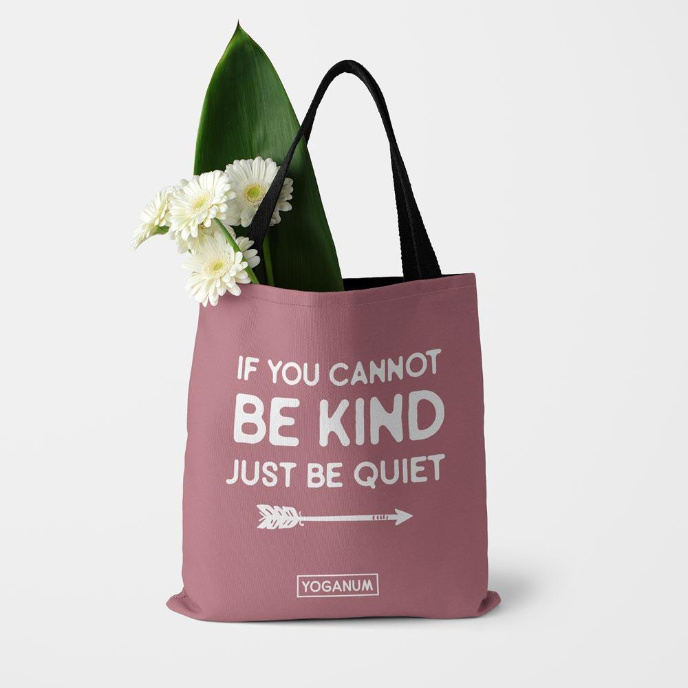 Just be quiet - Tote bag