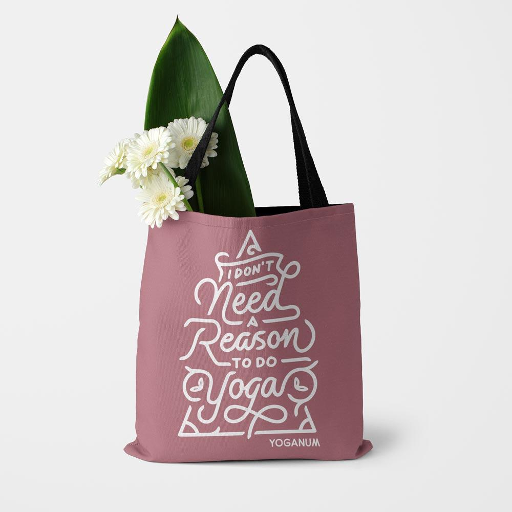 No reason for yoga - Tote bag