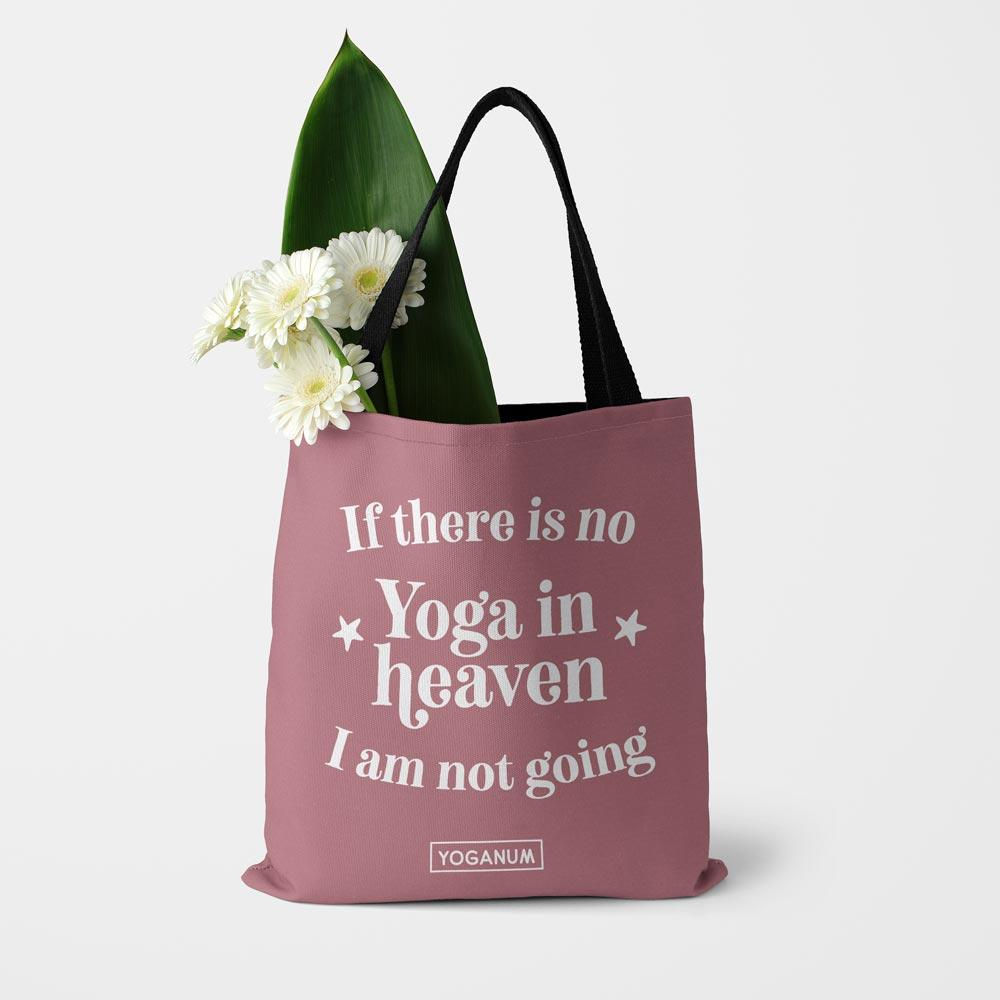 No yoga in heaven - Tote bag