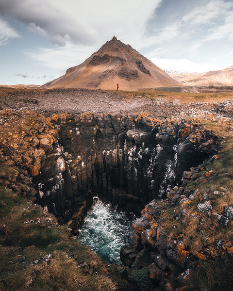 Volcano in Iceland - Photographed by Ryan Ditch